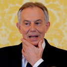 Saying sorry: Tony Blair