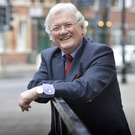 Jackie Fullerton in Belfast city centre