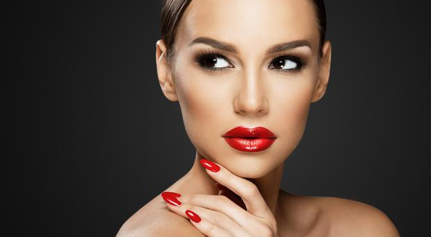 Vivid look: bold red is on-trend now