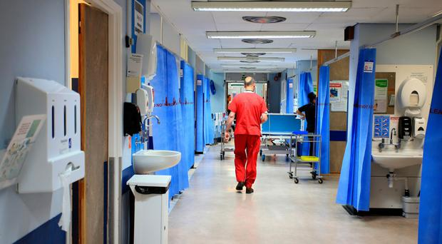 In demand: The health service has been brought to its knees by the strain of its workload