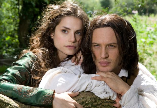 Firm favourite: Tom Hardy and Charlotte Riley in a television adaptation of Wuthering Heights