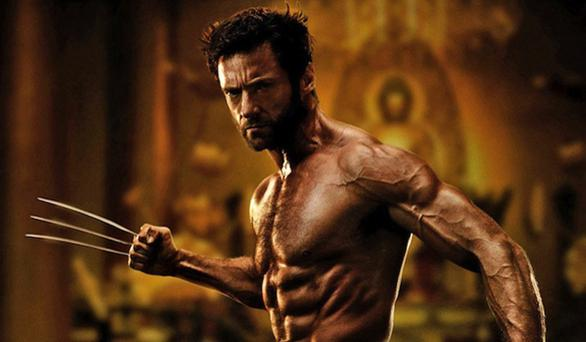 Still sharp: Hugh Jackman as Logan in the final Wolverine movie