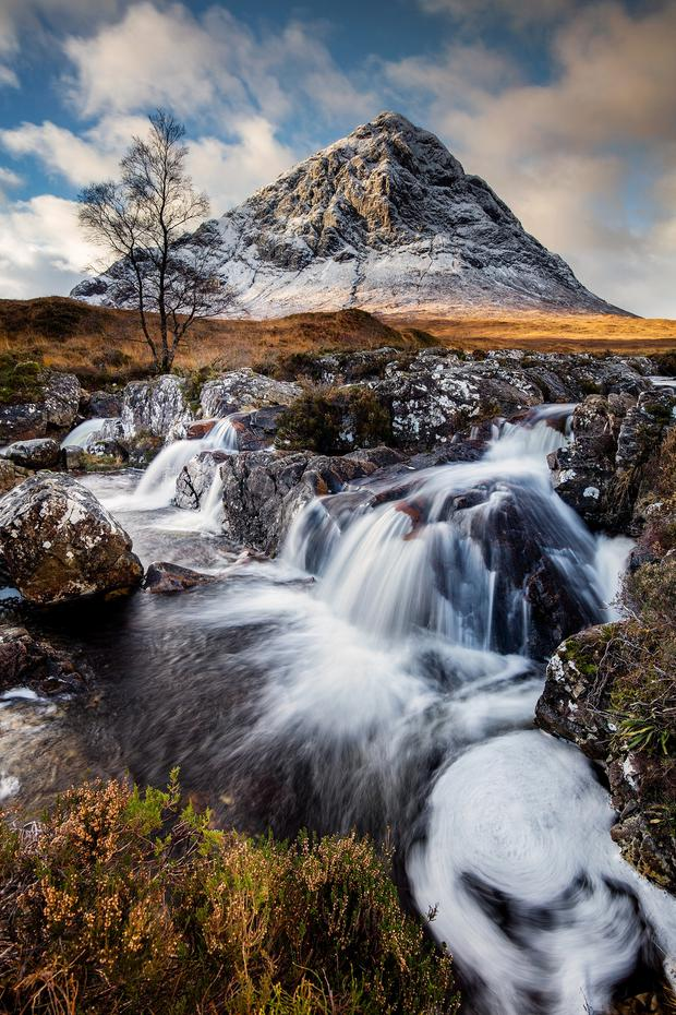 The landscape picture which helped Steven Hanna win the coveted award at Galgorm last Sunday