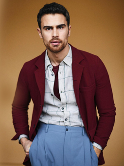 Film buff: Theo James