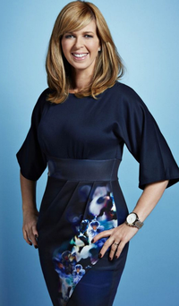 All smiles: Kate Garraway