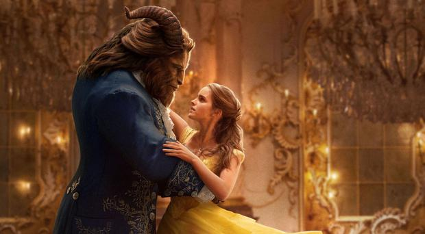Quite enchanting: Dan Stevens and Emma Watson in Beauty and the Beast