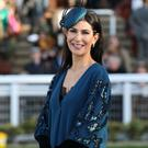 Style queen: Una won the best dressed lady competition at the Cheltenham Festival