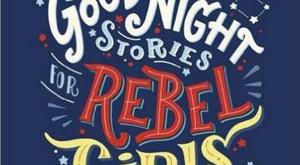 The cover of Good Night Stories for Rebel Girls by Elena Favilli and Francesca Cavallo