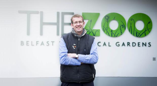 Belfast Zoo manager Alyn Cairns