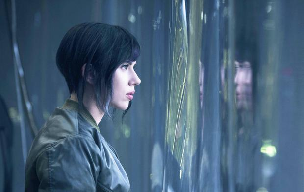 Star turn: Scarlett Johansson in new film, Ghost in the Shell