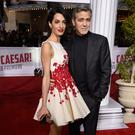 Global life: Amal and George Clooney