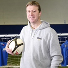 Ex-Manchester United defender Pat McGibbon is determined to help young people who may be having mental health problems