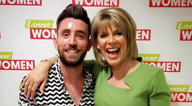 Ryan Hand with Loose Women's Ruth Langsford