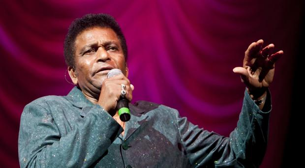 As i began singing crystal chandeliers in belfast i thought about charley pride onstage aloadofball Image collections