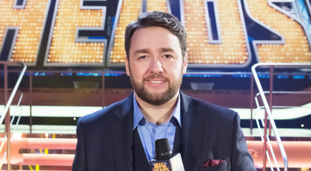 Comic dream: Jason Manford presenting Bigheads
