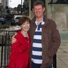 Battling on: Dr Cameron with his late wife Maire