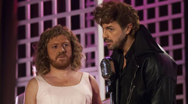 High flyers: Keith Lemon as Baby and Paddy McGuinness as Johnny in The Keith and Paddy Picture Show