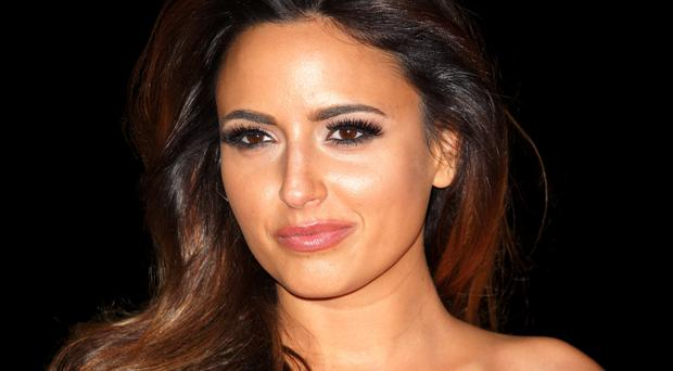 Model behaviour: Nadia Forde did not break the bank for her gorgeous look