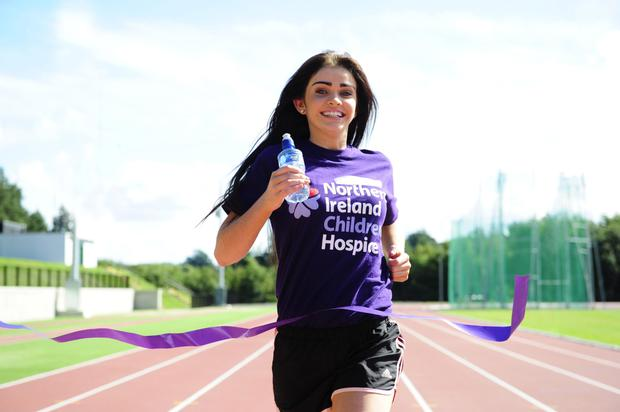 Charity work: Anna has always supported the NI Children's Hospice