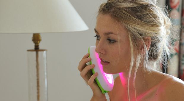 Spot-free skin: the Lumie Clear Acne Treatment Light, available from boots.com