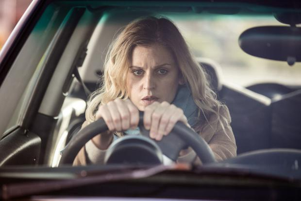 Tense drama: Denise Gough as Paula