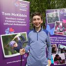 Tom McKibbin the Northern Ireland Children's Hospice ambassador
