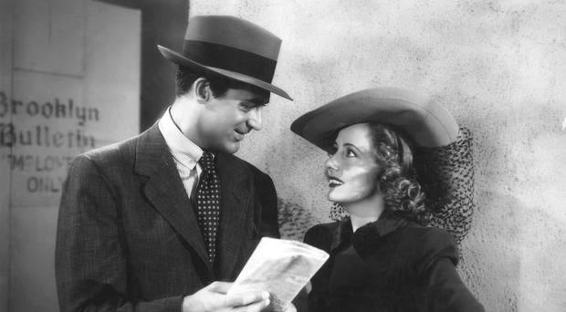 Movie superstar: Cary Grant and Irene Dunne in Penny Serenade