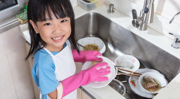 children should be paid for doing Taking out the trash setting the table doing laundry for millions of kids, doing  chores is a part of everyday life but for many others,.