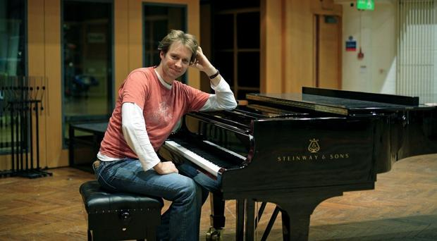 New generation: Giles Martin in the studio at Abbey Road