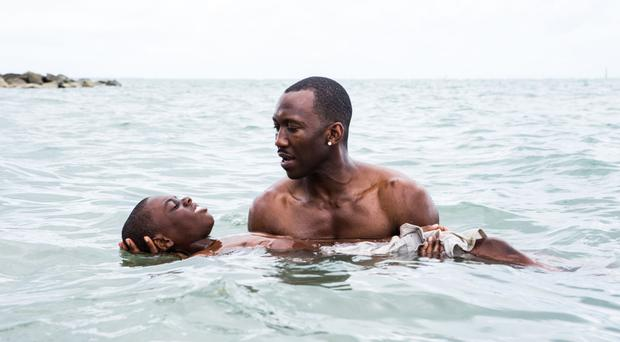 Growing pains: Alex Hibbert and Mahershala Ali in Moonlight