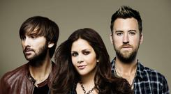 New direction: Lady Antebellum have gone uptempo on their sixth album