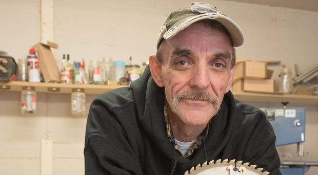 Roy Brown's life has been completely transformed by Limavady Men's Shed