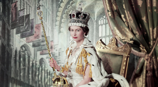 the Cecil Beaton photograph showing the Queen on her Coronation Day, 2 June 1953