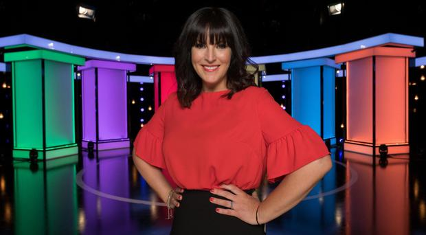 Perfect host: Anna Richardson