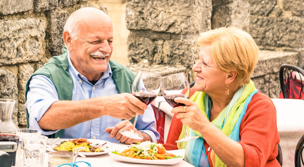 Good cheer: a good diet can be key to living longer