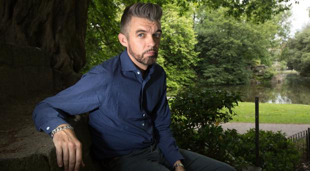 Poet and author Nick Laird, whose latest work of fiction has just been published