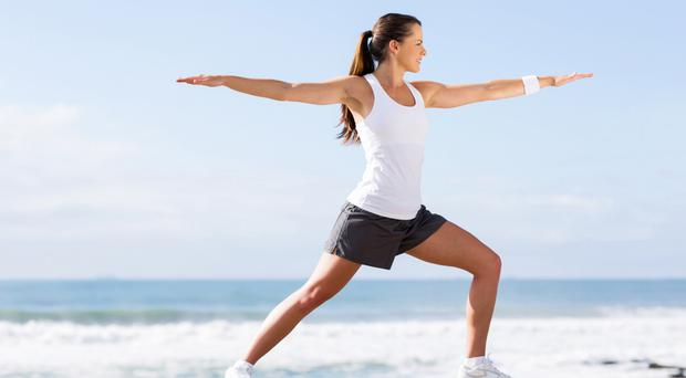 Reap the benefits inside and out with a yoga workout