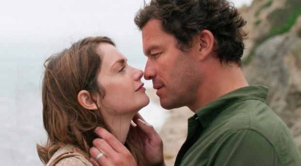Sex symbol: Dominic West with Ruth Wilson in The Affair