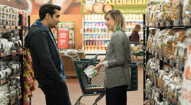 Starring role: Kumail Nanjiani and Zoe Kazan in The Big Sick