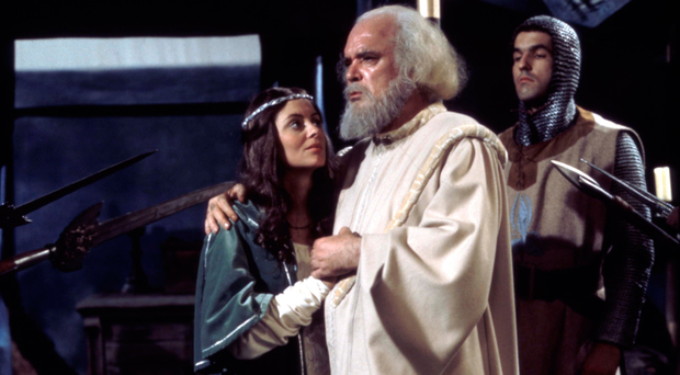 Acclaimed: thespian: Patrick Magee in King Lear