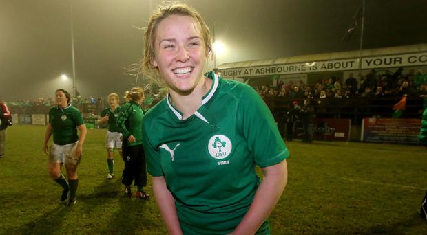 Cooke RFC's Ashleigh Baxter is in the Ireland team for Wednesday's World Cup opener.