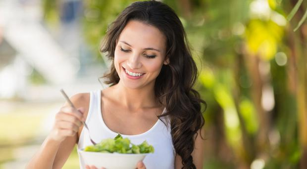 Salad days: eating healthily is vital for diabetes sufferers