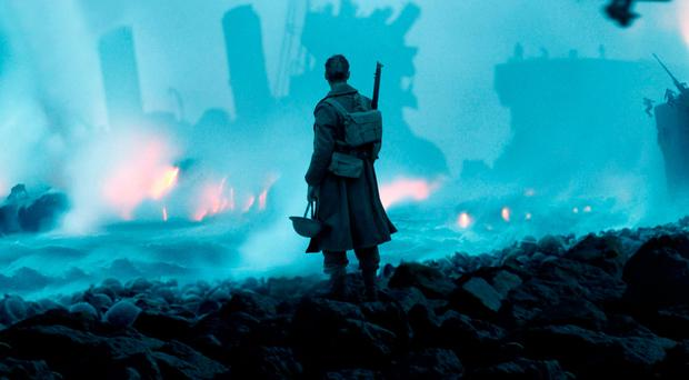 Scenes from Christopher Nolan's new epic movie Dunkirk featuring Northern Ireland actor Kenneth Branagh