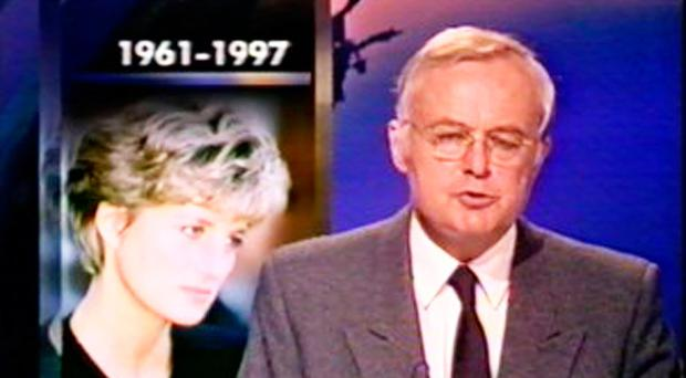 Martyn Lewis tells of Princess Diana's death