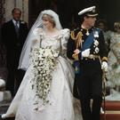 Unhappy couple: Charles and Diana on their wedding day