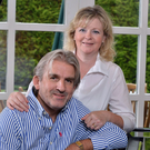 Perfect harmony: Barry Douglas and wife Deirdre