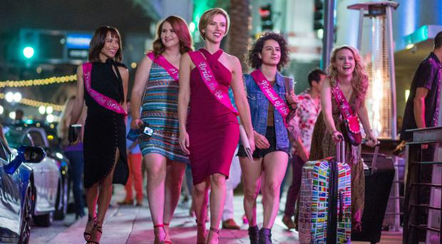 Here come the girls: Scarlett leads the way