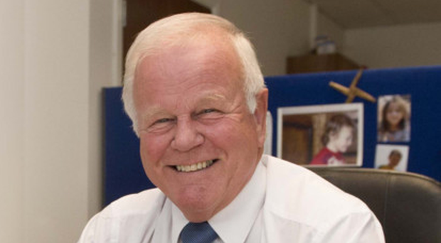 Trevor Lunn MLA at his Alliance Party Office