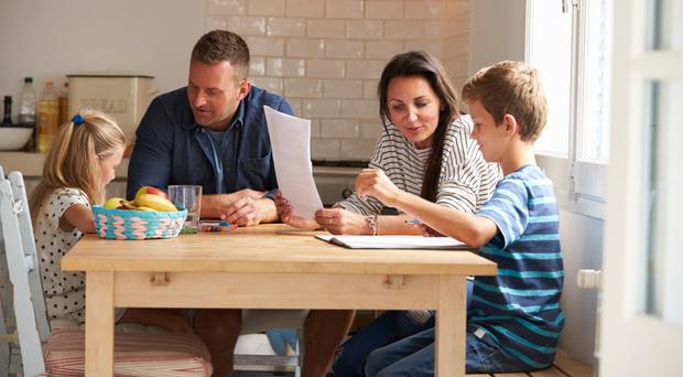 Huge role: parents can help their kids fulfil their academic potential by working with them at home