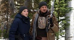 Seeking revenge: Elizabeth Olsen and Jeremy Renner